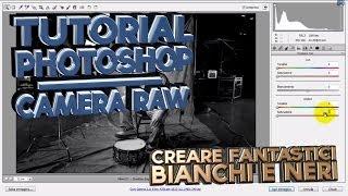 5) Creare Strabilianti Foto in Bianco e Nero - Photoshop CS5 - Camera Raw - Tutorial Italiano