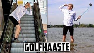 Pelasin golfia elämäni ensimmäistä kertaa!