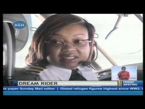 Meet  Africa's first female captain flying the Dreamliner