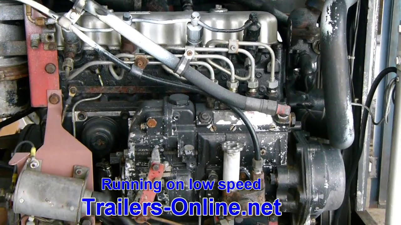 Used Isuzu C201 Diesel Engine For Sale - Ph  612-799-8092  Wgs1955 02:01 HD