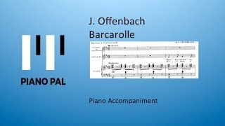 In subscribing to this channel you wil help me a great way make these free video's. thank for doing so! j. offenbach - barcarolle piano accompanime...