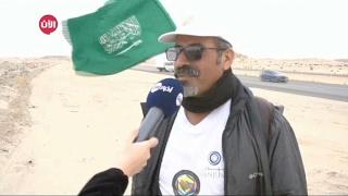 الرحالة السعودي القحطاني يصل الى مشارف الرياض منهيا رحلته الخليجية