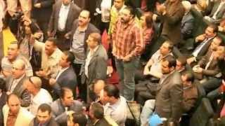 Scuffles at journalist syndicate general assembly on 25 November 2012