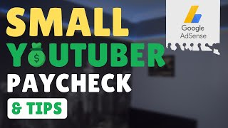 HOW MUCH YOUTUBE PĄYS ME *SHOCKING* | How Much I Make as a Small YouTuber