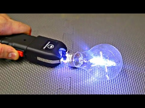 What Happens If You Taser Light Bulb?