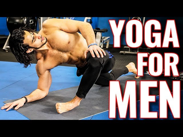 Yoga for Men - TOP 5 Yoga Exercises for 'Tight' Beginners