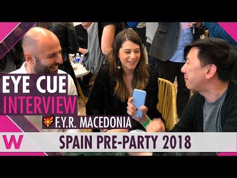 Eye Cue (F.Y.R. Macedonia 2018) Interview | Eurovision Spain PreParty 2018