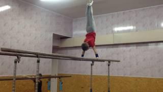 """Спортивная гимнастика.(Яровой Артем, 8 лет, 3 разряд) Тренер: Ягодин С.А. Спортивный клуб """"Гимнаст"""""""