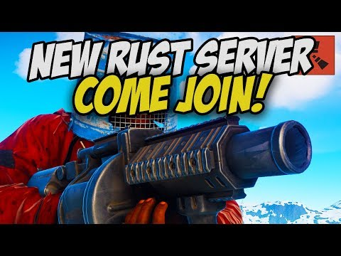 MY NEW RUST SERVER IS OPEN! thumbnail