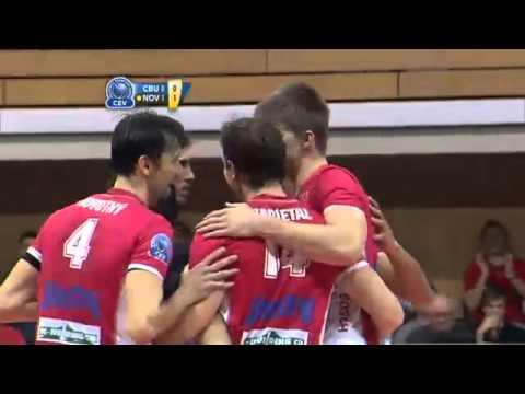 Jihostroj CESKE BUDEJOVICE - Lokomotiv NOVOSIBIRSk