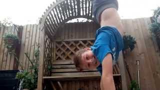 Parkour in my house!!!