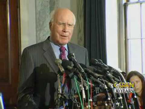 Sen. Patrick Leahy Press Conference on Judge Sotomayor