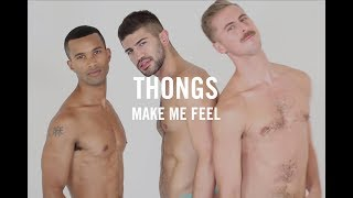 Thongs now available in the club - the underwear expert