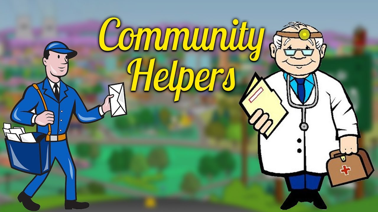 Play & Learn Community Helpers - 1 | Kids Vocabulary ...