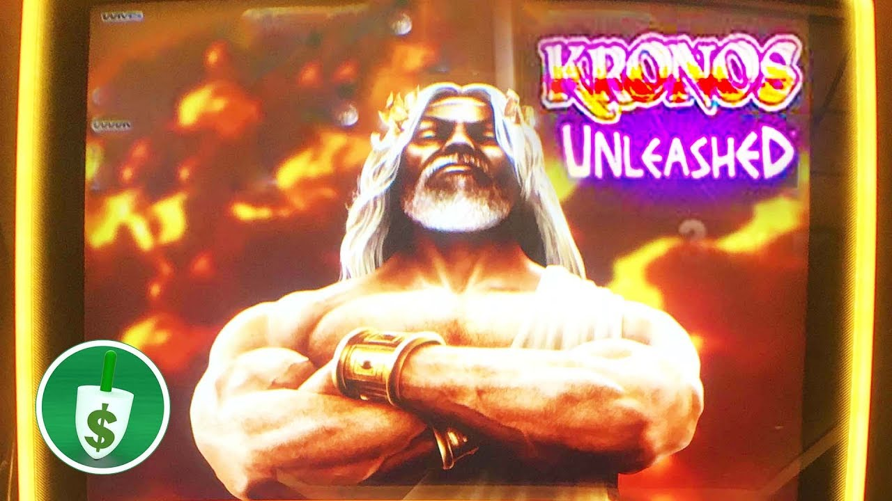 Kronos Unleashed Slot Machine Feature Youtube