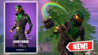 NOUVEAU GAMEPLAY LUCKY RIDER SKIN À FORTNITE!