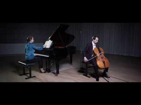 """F. Schubert """"Arpeggione"""" Sonata, Christoph Croisé, Cello, Oxana Shevchenko, Piano"""