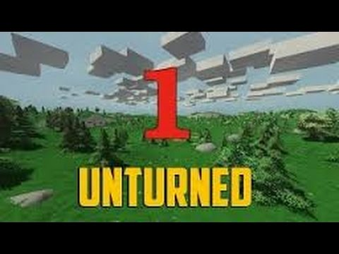 Let's Play - Unturned Episode 1 - (Oh boy! Supplies!)