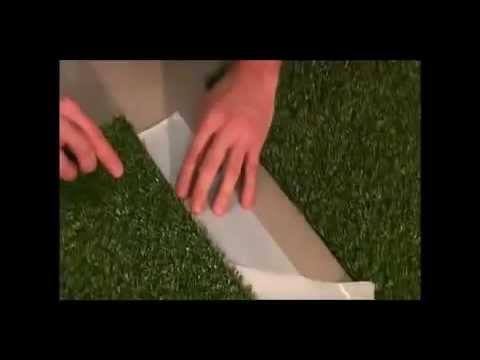 How To Seam Synthetic Turf With Self Adhesive Artificial Gr Joint Tape You