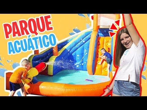 PARQUE ACUATICO GIGANTE💦¡¡EN CASA!! 🏠Especial Verano 2019