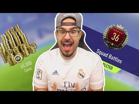 OMG MY TOP 100 REWARDS SQUAD BATTLES!! FIFA 18 Ultimate Team