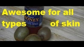 """How to Make Kiwi Honey Anti Aging Natural Homemade Face Mask for Mature Skin & Stay Looking Young"" Thumbnail"