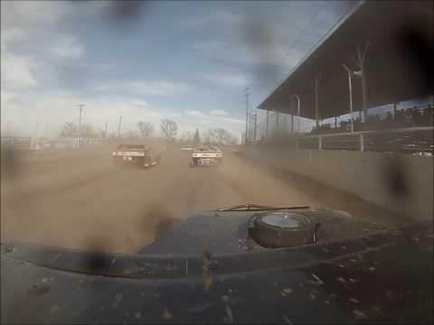 Phillips County Raceway heat race 4-28-13 (Ryan Moser) 18c onboard