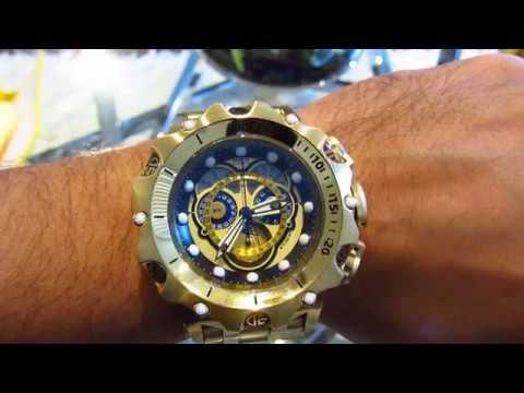 1af7134f0e1 Invicta 16804 Men s Venom Hybrid Chronograph Reserve Watch - YouTube