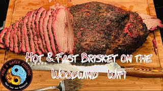 Hot & Fast Texas Style Beef Brisket on the Camp Chef Woodwind WIFI