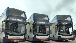 Stagecoach Announce New £5m Fleet For Oxfordshire