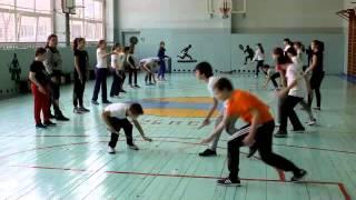 Урок физкультуры в 5 классе  тема