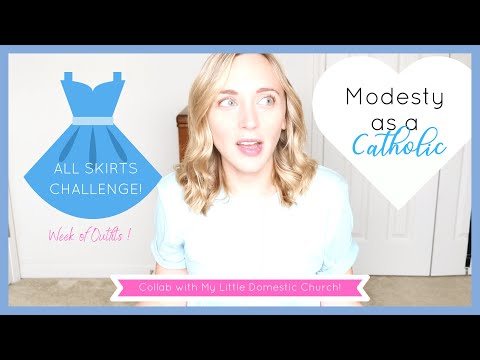I Wore Only Skirts For a Week | MODESTY Challenge | COLLAB!