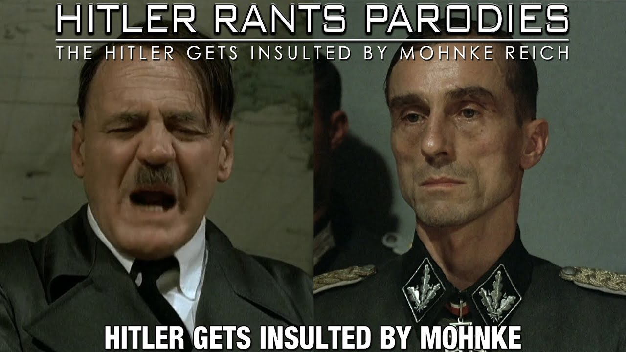 Hitler gets insulted by Mohnke