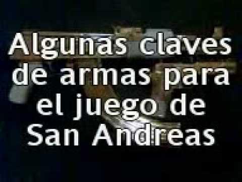 Claves para GTA San Andreas (PS2) (100% garantizadas