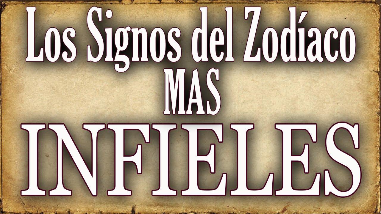 Los signos del zod aco m s infieles youtube - Los signos del zodiaco en orden ...