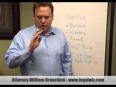 Dodd Frank Overview for Real Estate Investors with Attorney William Bronchick