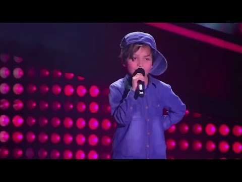 8-year old Matthew sings 'Boyfriend' of Justin Bieber | La Voz Kids Colombia - Blind Audition