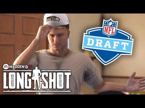 Madden 18 Longshot Story Mode - Ep 8 - NFL DRAFT!! (Madden 18 Longshot Walkthrough FINALE)