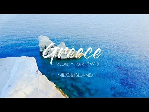 GREECE Vlog for Grandma | Part 2  | MILOS ISLAND