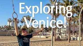 Santa Monica DOING THINGS at Venice Beach