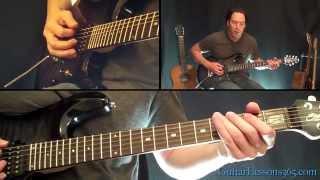 I Don't Know Guitar Lesson - Ozzy Osbourne - Famous Riffs