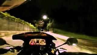 BMW K1 ride around Upper Town Bergamo