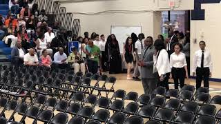 Garrett Middle School 8th Grade Moving Up Ceremony and Graduation part 1