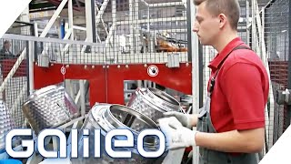 Teuer vs. Günstig: Lohnen sich teuere Waschmaschinen? | Galileo | ProSieben