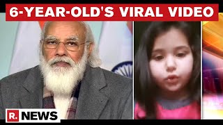 6-Year-Old Kashmiri Girl Appeals To PM Modi, Complains Of Virtual Classes And Homework