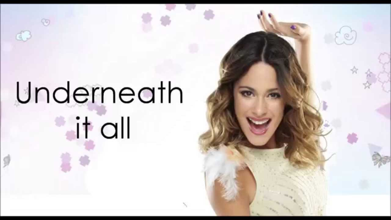 Violetta 3 - Underneath It All (Lyrics/Letra) HD - YouTube