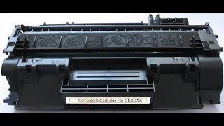 Заправка картриджа Hp CE 505a (05a і 05x) HP 2035 / 2055 в домашніх умовах.