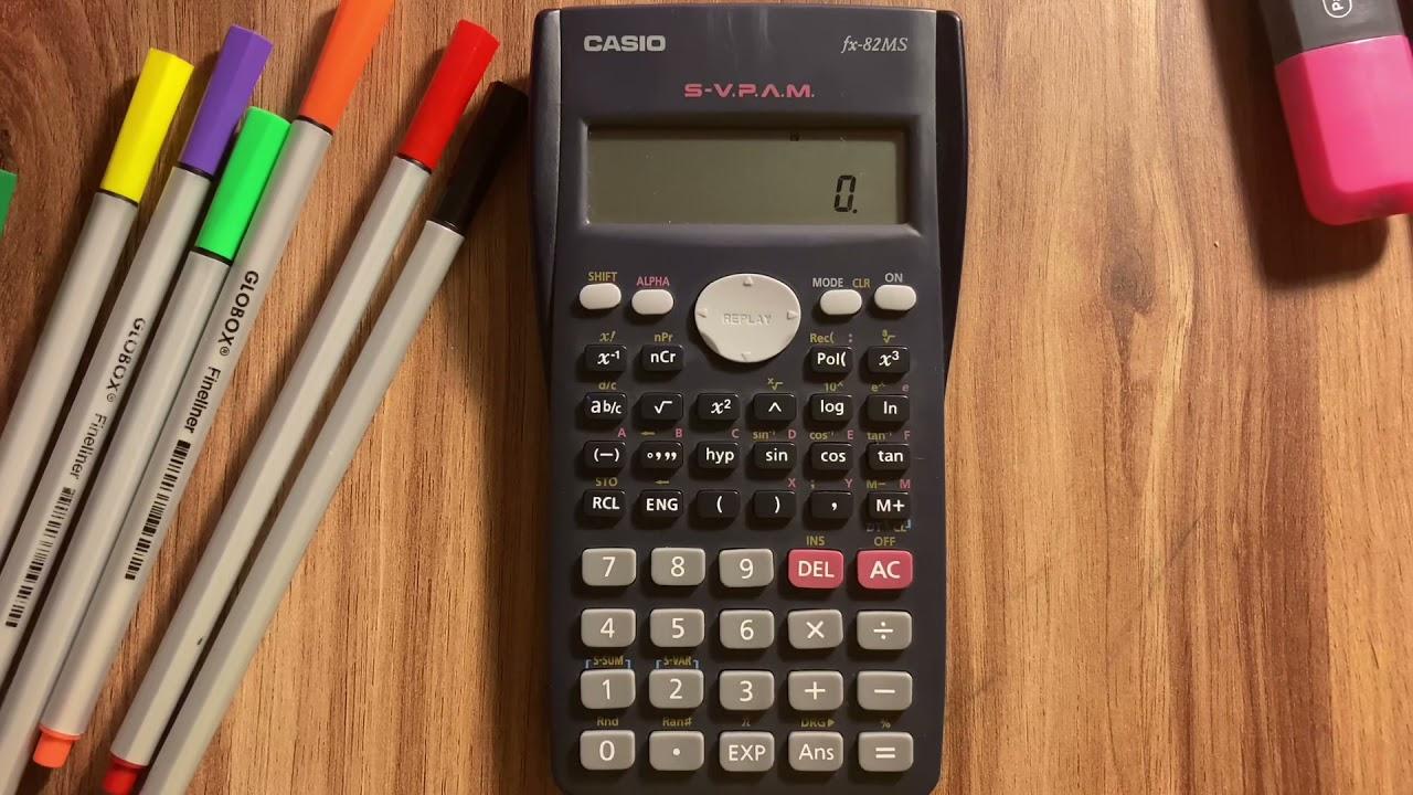 Bilimsel Hesap Makinesi Kullanımı 2 - Temel Hesaplamalar (Calculator Tutorial 2)