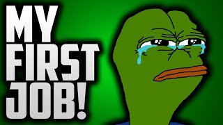 MY FIRST JOB?! (Funny Life Story)