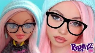 (Real Life) BRATZ Doll Transformation Makeup Tutorial + GIVEAWAY!!!
